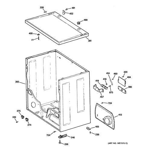 hotpoint dryer cabinet parts dlb3600sblwh searspartsdirect