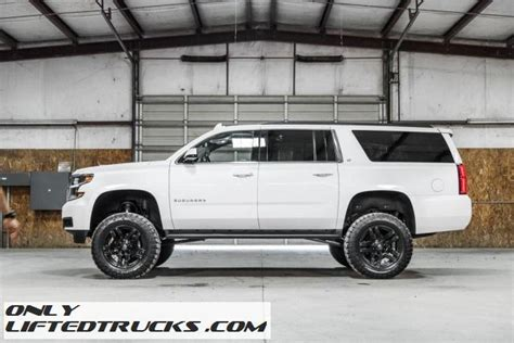 Lifted Suburban In Fort Worth 2016 Chevrolet Suburban Lt