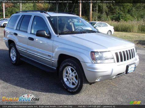 silver jeep grand cherokee 2004 2004 jeep grand cherokee laredo 4x4 bright silver metallic