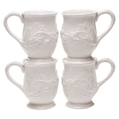 We have tons of stackable coffee mugs so that you can find what you are looking for this season. Certified International Firenze Ivory Mug Set of 4 (16 oz ...