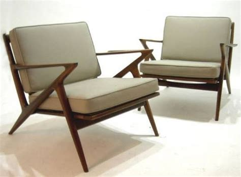 selig z chair knock atlanta pair mid century modern selig z chairs