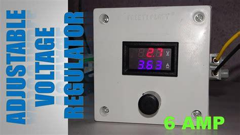 Adjustable Voltage Regulator Using Lmt Youtube