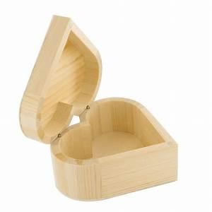 Petite Boite En Bois : petite bo te c ur en bois 12 x 12 x 5 cm ctop chez ~ Dailycaller-alerts.com Idées de Décoration