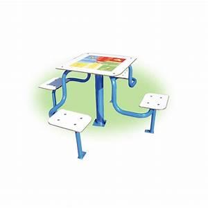 Table Enfant Exterieur : table de jeux pour les coles table de jeux ext rieure ~ Melissatoandfro.com Idées de Décoration
