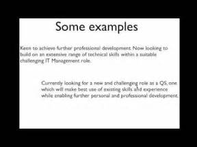 What To Write In Objective Part Of Resume by Your Cv Writing The Objective Section With Exle