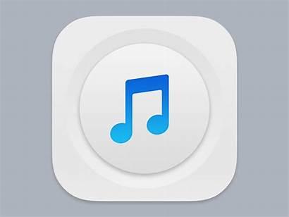 Icon App Ios Dribbble Musica Icons Gifs