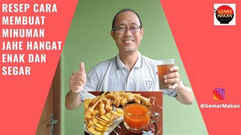 Wedang tahu / tauwa / kembang tahu kuah jahe / tahok #pekancooksnap. Resep Cara Membuat Minuman Jahe Hangat Enak dan Segar - YouTube