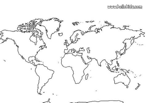map coloring pages continents wwwmilkandcookiesblogcom