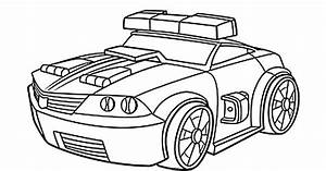 Chase Police Bot Coloring Pages For Kids  Printable Free