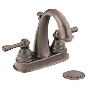 6121orb moen kingsley series two handle rubbed bronze