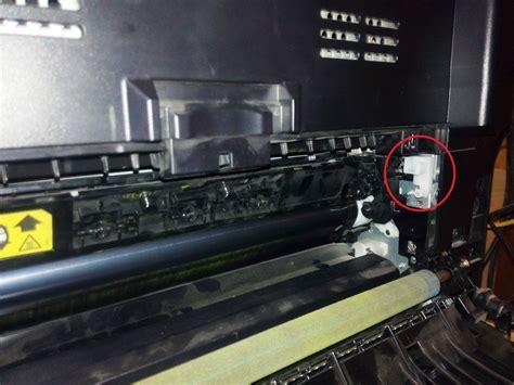 rear door doesnt seal  hp laserjet  colour mfp