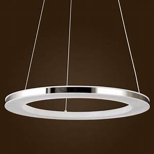 Acrylic led ring chandelier pendant lamp ceiling light