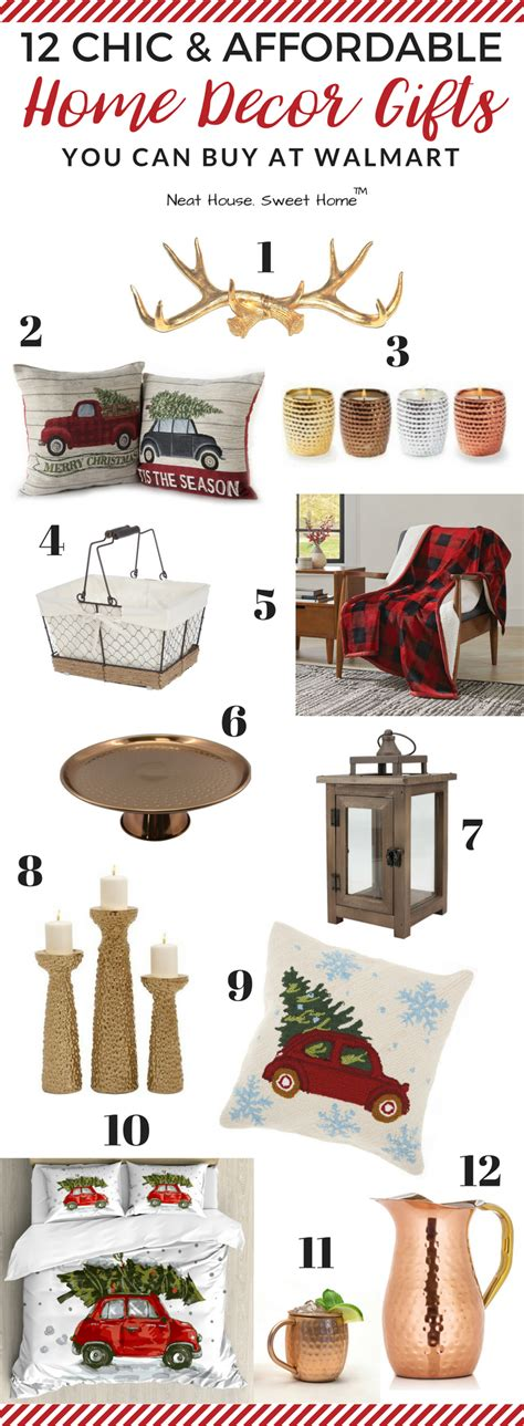 home design gifts 12 home decor gift ideas from walmart gift guide