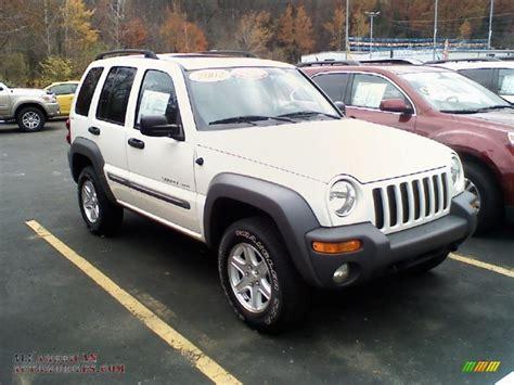 jeep liberty white 2017 2002 jeep liberty sport 4x4 in stone white 188988 all