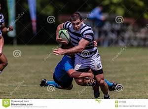 Player Run Tackle Rugby Selborne Editorial Photography ...