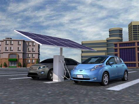 Solar-powered Electric Vehicle Charger Unveiled