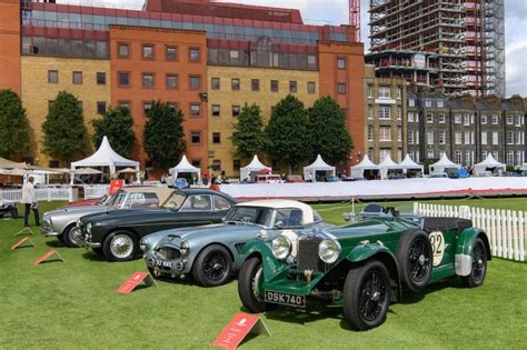 Bugatti continued the brand tradition of developing super sport versions of successful models with the veyron 16.4 super sport. London Concours 2019 - Report and Photos | Bugatti veyron super sport, Monaco grand prix ...