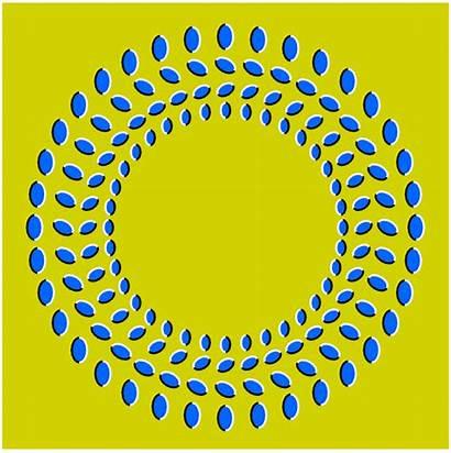 Round Illusion Optical Illusions Merry Moving Dashing