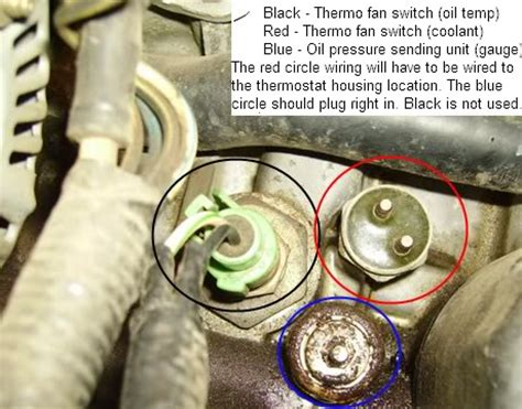 03 Civic Si Engine Wire Harnes Fan by Catch Can Setup Sensor On Block What Is It For