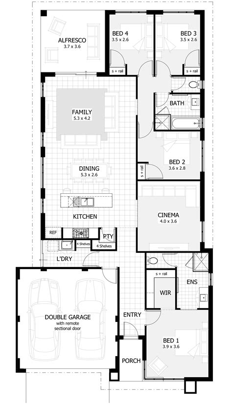 Alluring Wa Home Designs Of Ideas House Plans Western