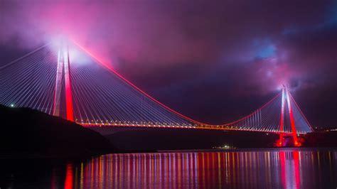 wallpaper yavuz sultan selim bridge suspension bridge
