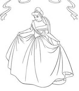 robe de mariã e cendrillon dessin ã colorier de cendrillon en robe de mariã e