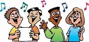 Best Children Singing Clipart #19584 - Clipartion.com