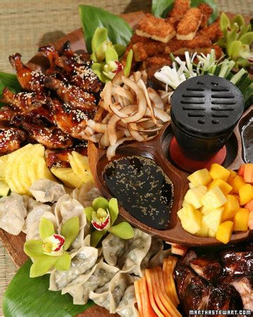 pupu platter recipe video martha stewart