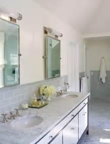 Grey Subway Tile Bathroom Gray Subway Tile Contemporary Bathroom Mancini