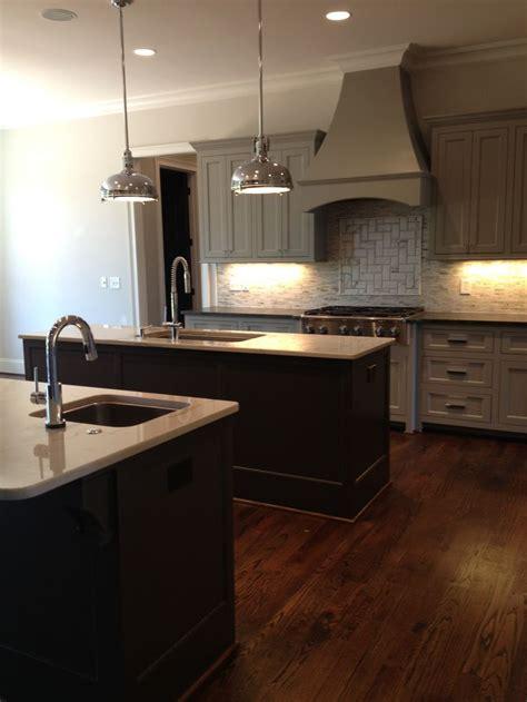 kitchen dorian gray cabinets urbane bronze islands