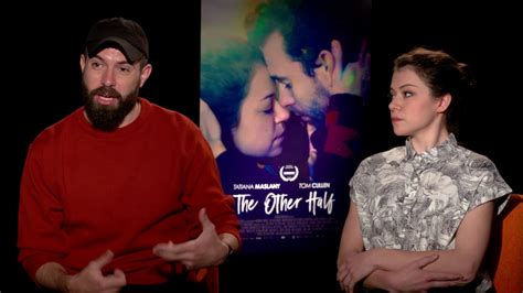 tom cullen the other half tom cullen tatiana maslany on their relationship the
