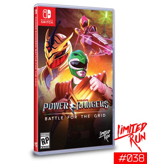 Switch Limited Run #38: Power Rangers: Battle for the Grid ...