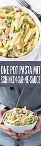 Dillsauce Einfach Schnell : one pot pasta mit schinken sahne sauce recipe rezepte schule pinterest pasta recipes ~ Watch28wear.com Haus und Dekorationen