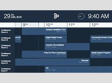 Right on Time Display Calendar Bookings with Enplug