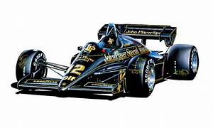 Jps Lotus F-1 Car Digital Art by David Kyte