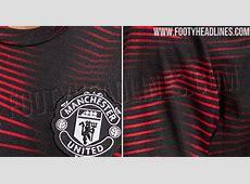 Stunning Manchester United 2019 PreMatch Shirt Leaked