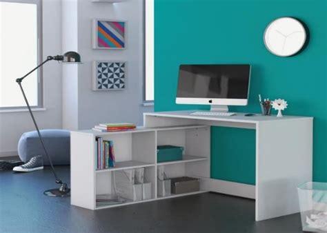 plan bureau d angle cdiscount nagano bureau d angle blanc 100 x 111 cm blanc