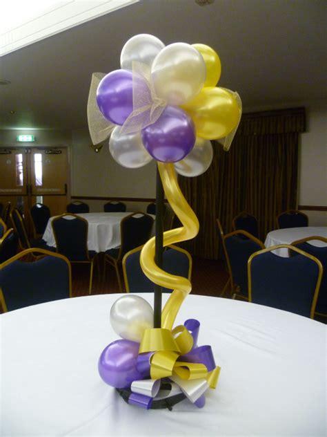 table decorations centerpieces idea para hacer un centro de mesa con globos