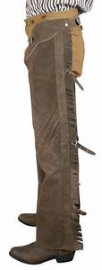 Guide Size Chart Fringed Western Leather Shotgun Chaps