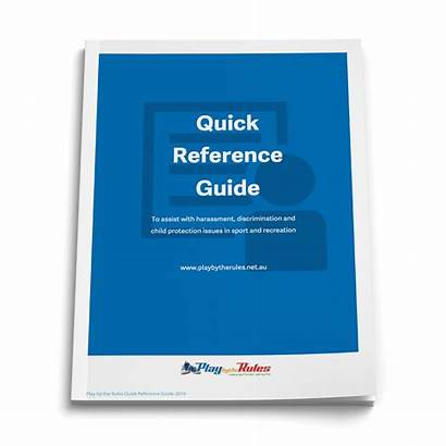 Reference Quick Guide Fair Play References Rules