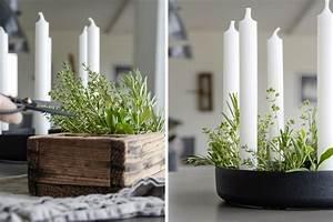 Deko Im Januar : dekoration tischdekoration mit feinen kr utern mxliving ~ Frokenaadalensverden.com Haus und Dekorationen