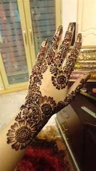 Latest Arabic Mehndi Designs For Hands 2013