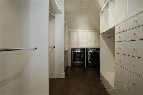 washer dryer closet transitional closet har