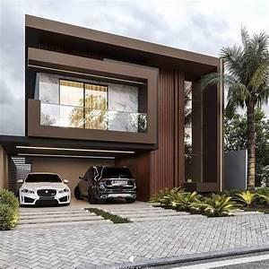 Modern, Exterior, House, Design, Ideas, For, 2021