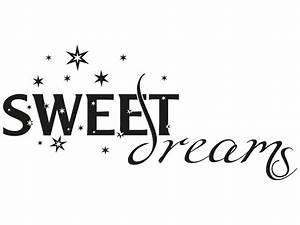 Wandtattoo Sweet Dreams : wandtattoo sweet dreams no 3 von klebeheld ~ Whattoseeinmadrid.com Haus und Dekorationen