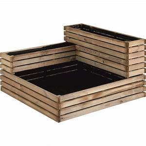 Carre Potager En Bois Pas Cher : carr potager tages en bois x x cm ~ Dailycaller-alerts.com Idées de Décoration