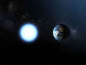 Artist U0026 39 S Impression Of The Sizes Of Sirius B And The Earth
