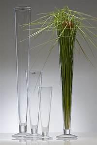 Bodenvase 80 Cm Hoch : glasvase cielo vase glas bodenvase blumenvase konisch mit fu 80 cm ebay ~ Bigdaddyawards.com Haus und Dekorationen