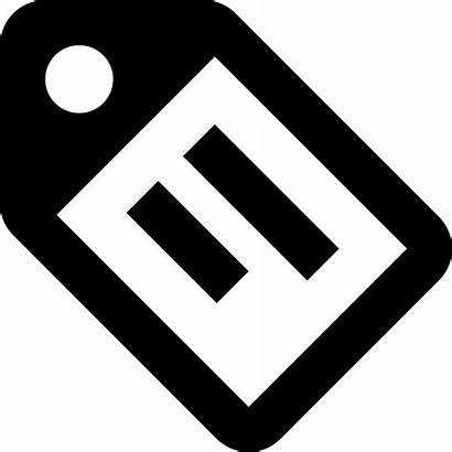 Tag Icon Material Text Outline Svg Onlinewebfonts