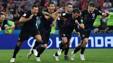 Fifa World Cup England Croatia France